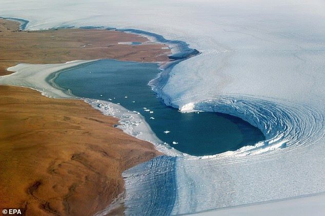 As glaciers retract, they expose permafrost that has stored deep sinks of carbon. As that ice warms it releases greenhouse gases into the atmosphere and exacerbates climate change