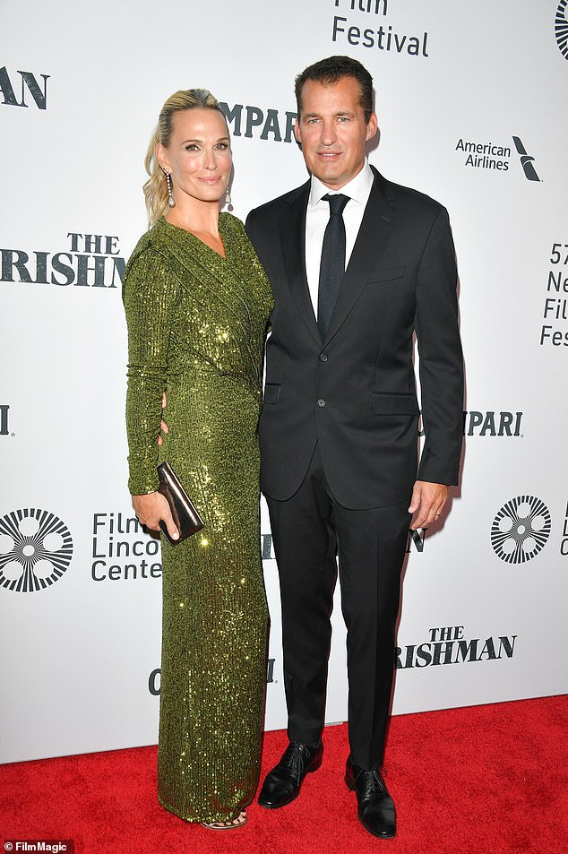 Family life:Molly has been married since 2011 to movie producer Scott Stuber, and the couple share sons Brooks, seven, Grey, two, and daughter Scarlett, four