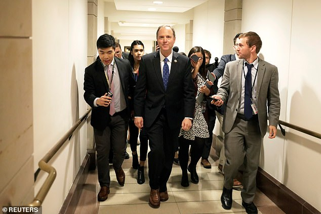 Two previously reported reasons for bias include the fact that the whistleblower is a registered Democrat and failed to disclose meeting withHouse Intelligence Committee Chairman Adam Schiff's (above) staff before filing the complaint