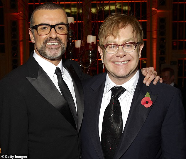 George Michael was 'uncomfortable in his own skin' about being gay and had wanted to die because he 'resented' his life, Sir Elton John has said. The pair (pictured together in 2011) sang Don't Let The Sun Go Down On Me in 1991