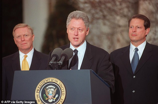 Bill Clinton, when he was president in the 1990s, brought in an outside team to defend himself against a Republican-led impeachment inquiry