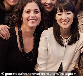 Gemma Quinn (left) became the first Australian to train under global sensation Marie Kondo
