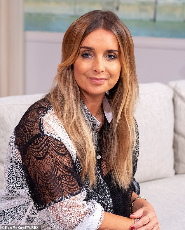 Glamorous: Louise was a guest on This Morning to chat about her long-awaited musical comeback, which comes with her new album set for release in early 2020