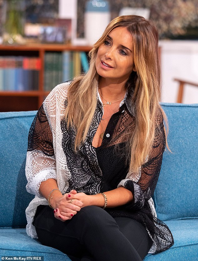 Candid:Louise Redknapp, 44, has insisted she still 'doesn't know' why her marriage to Jamie broke down after saying it took 'a long time' to get over the split