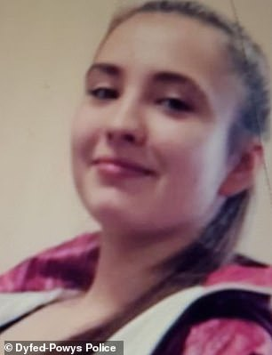 Kianna (pictured) went missing on Wednesday and police have found a body in a disused warehouse