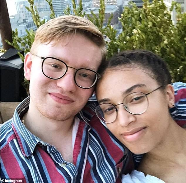 Inseparable: The pair met in an elevator during freshman orientation in 2015 and were inseparable during the next four years