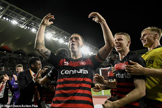 It was the first time the Wanderers had beaten Sydney FC in their last seven clashes over three years