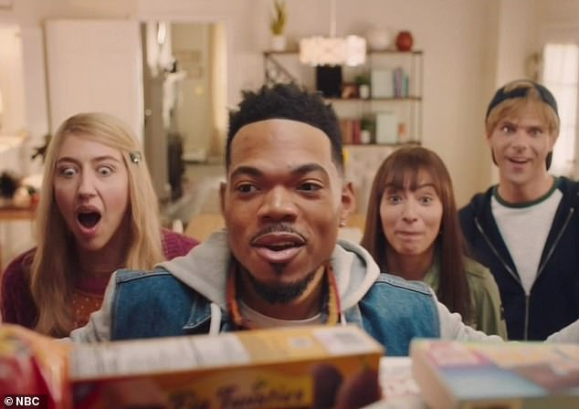Dark: A satirical commercial for Tasty Toaster Tarts saw Chance playing a kid who may -or may not- have murdered his parents