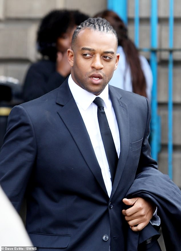 Accused: After the not guilty verdict was delivered, Oritsé breathed a sigh of relief