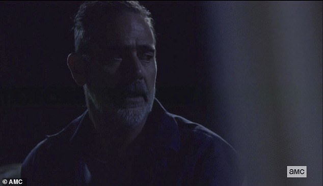 Saviors leader:Negan had once decimated the survivors, killing or imprisoning them as the leader of The Saviors