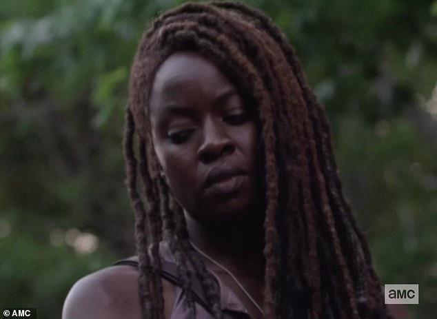 Final season: Michonne, played by Danai Gurira, has been on the show since season three and season 10 is her final season