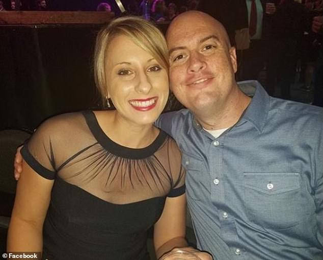 Former congresswoman Katie Hill has released a memoir claiming her estranged husband Kenny Heslep emotionally abused her and told her to kill herself. The estranged couple are pictured together
