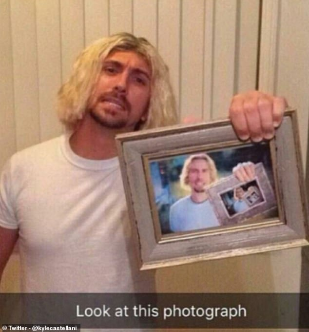 This one should be an instant win with the party guests (if they're Chad Kroeger fans), although you may be forced to pull 'the face' and sing part of Nickelback's Photograph song every time someone asks you what you're dressed as - a great opportunity to find some like-minded new friends perhaps