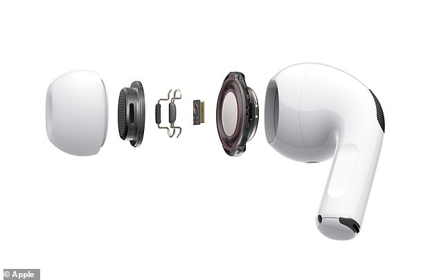Users can choose from three different sizes for a more personalized fit that boast a flexible silicone ear tips that conform to the contours of each individual ear