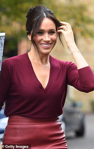 Kate, 37, reportedly feels sorry for the American former actress (pictured), 38, who admitted she was 'not OK' in the ITV programme Meghan and Harry: An African Journey