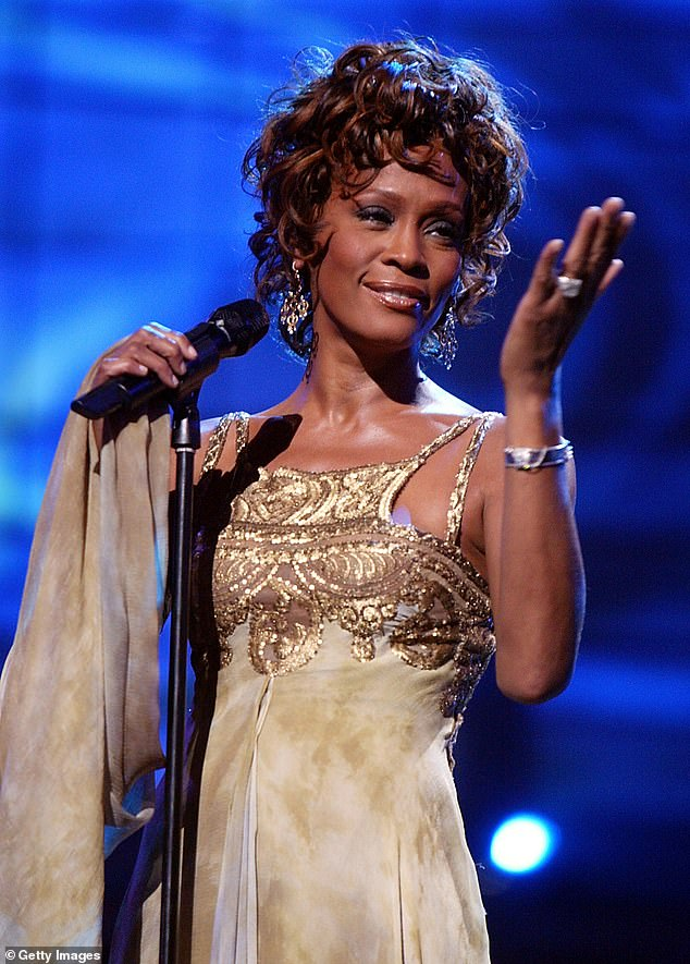 Singer Whitney Houston made her debut on the Forbes list almost eight years after she died