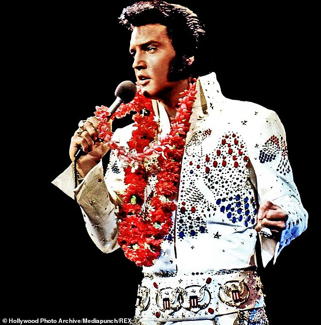 Elvis Presley earned $39million and Graceland in Memphis is a big earner (pictured 1973), according to Forbes, which created the list using an estimation of pre-tax income