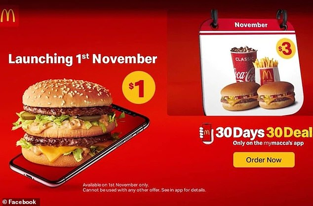 From Friday, November 1, customers can get their hands on a Big Mac burger for just $1
