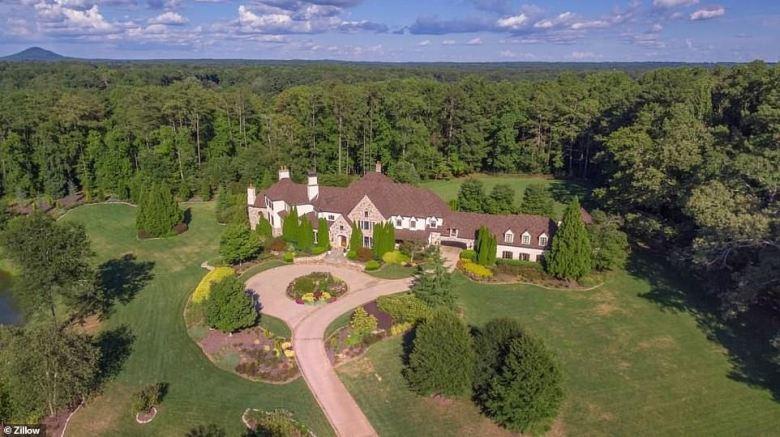 Image result for Dwayne 'The Rock' Johnson $9 Million Georgia Estate