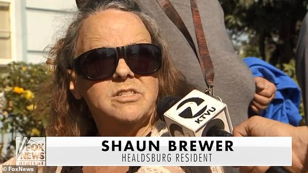 'That's the most terrible thing I've ever heard,' Shaun Brewer, Healdsburg resident said. 'Anybody pretending to do that, that's just total fraud'