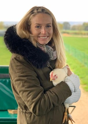 Sofia Wellesley, who is the Duke of Wellington's niece, made the confession after visiting Daylesford farm in the Cotswolds, where she was pictured cradling poultry