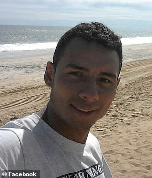 John James Usma-Quintero, 28, (pictured) was taken to a hospital and pronounced dead after the crash
