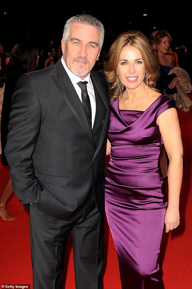 Future:Early next year, Paul will face Alexandra, his wife of 20 years, in court, where a judge to decide how his £10 million fortune will be divided (pictured with Alexandra in January 2015)