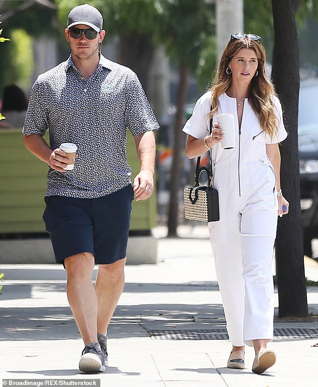 Mr. Blue Sky: The Guardians Of The Galaxy leading man was seen grabbing a coffee withKatherine this past July