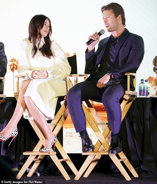 Special guest: Glen Powell was also present at the event, as he was also recognized on the list