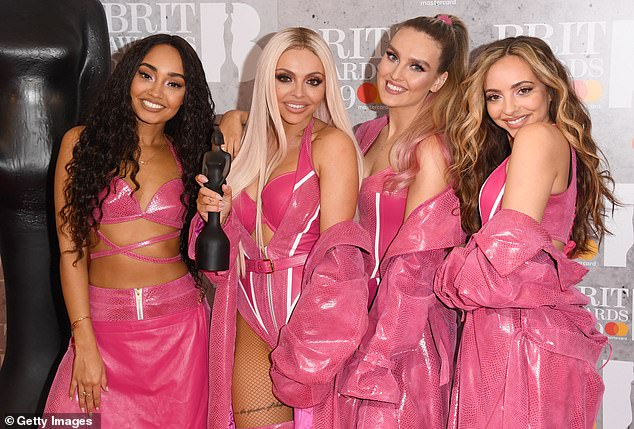 Bold step: Little Mix recently confirmed reports that they will launch a television program on Saturday night that will compete with Simon's X Factor