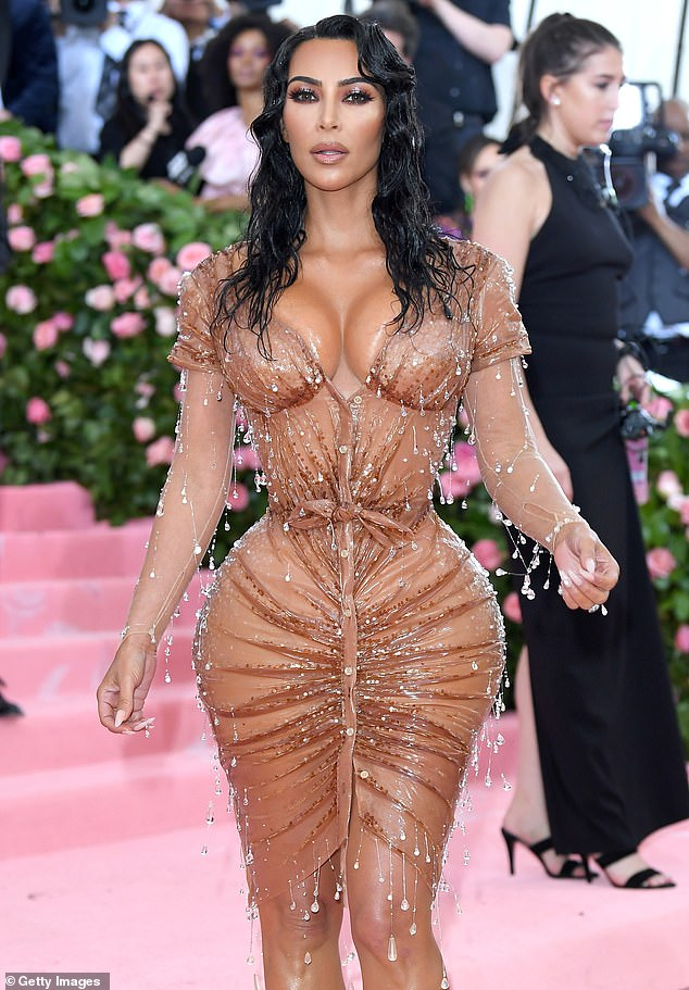 Vegan vibes: Earlier this summer, she revealed she was starting a vegan diet, shortly before showing off her tiny waist in that iconic Thierry Mugler Met Gala dress