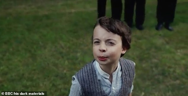 Meanwhile Lyra's best friend Roger, played by Lewin Lloyd, vanishes from the college, leaving the little girl devastated