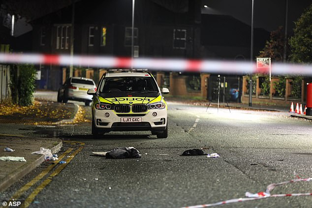 The other person remains in hospital for treatment after the crash in Manchester on Sunday