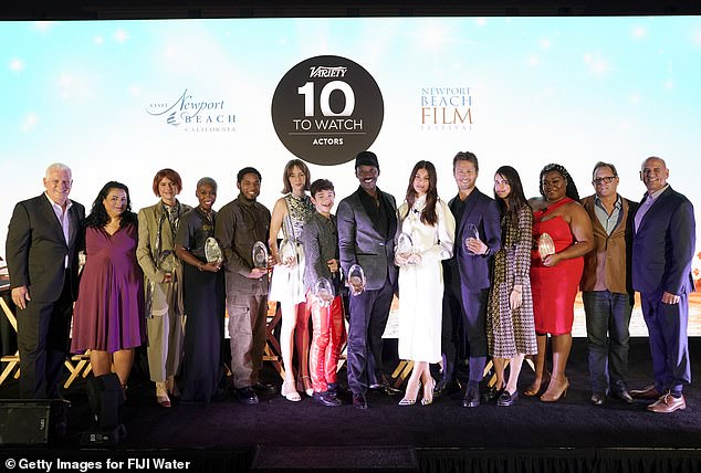 Future of Hollywood: The members of Variety's list of 10 Actors to Watch in 2019 were present for Newport Beach Film Festival's Fall Honors