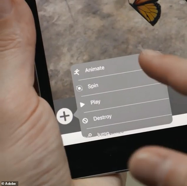 Aero will let users animate AR objects and customize they way they respond to interactions like being touched or pushed