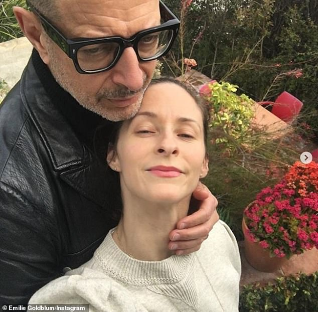 Third time's the charm:The American actor wed Emilie in 2015, after previously tying the knot with actresses Patricia Gaul and Geena Davis