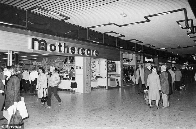 No doubt they will blame all this on a combination of 'challenging market conditions', competition from Amazon and the like and, inevitably, Brexit. A store is pictured above in Middlesbrough in early 1983