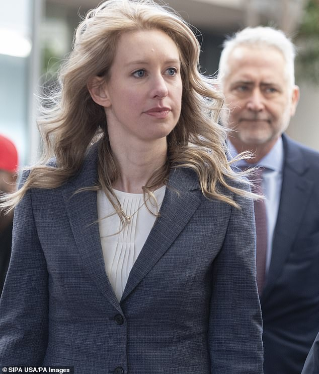 Former Theranos CEO Elizabeth Holmes was seen arriving to court on Monday in San Jose, California