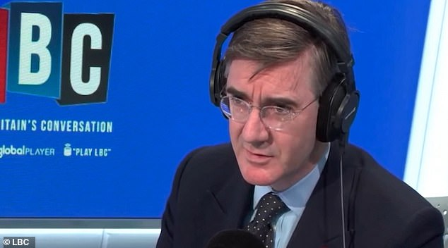 Mr Rees-Mogg, 50, was slammed for the 'insensitive' comments on Nick Ferrari's LBC radio show, with members of the community demanding an apology and declaring he 'should be ashamed of himself'