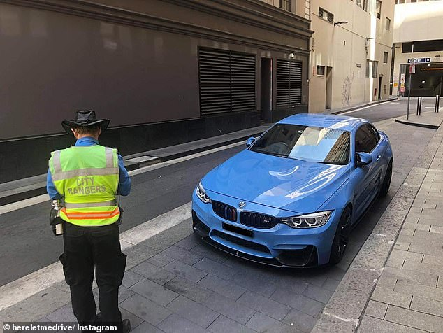 A job listing has been posted online seeking applicants to become parking rangers - arguably one of the most despised professions in Australia (stock image)