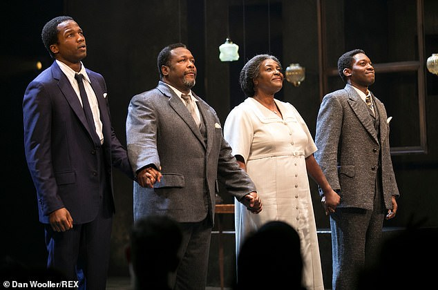 Show: Death of a Salesman is being shown at the Piccadilly Theatre in London