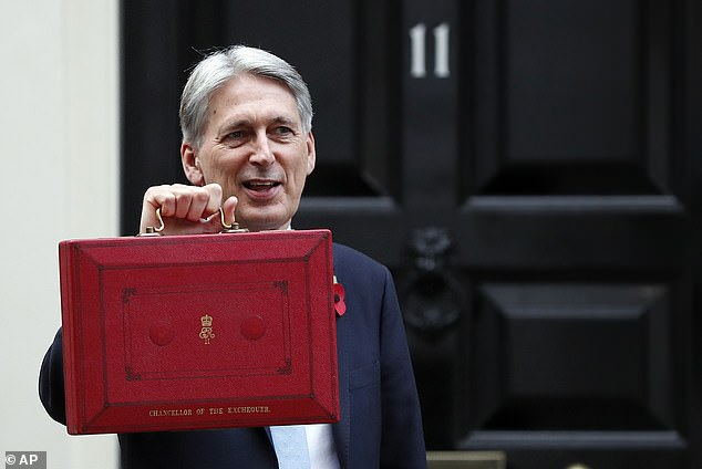 Rarely during his time as Chancellor did the one-time second-hand car salesman from Essex glow with sunny optimism. That said, he was responsible for presiding over some radiant times for the UK economy (he is pictured before the budget in October last year)