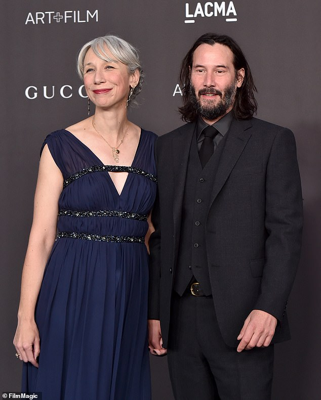 Hyped: The Internet was abuzz about Keanu's outing with his artist girlfriend Alexandra Grant, 46, over the weekend