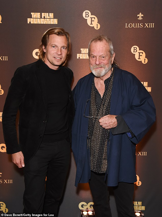 VIPs: Ludovic du Plessis, the Global Executive Director OF LOUIS XIII Cognac, was joined by Monty Python legend Terry Gilliam