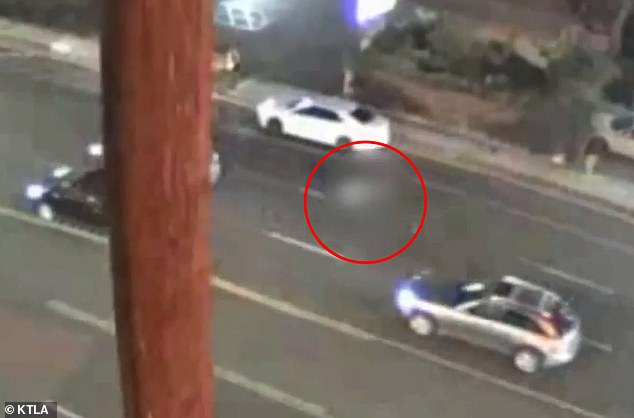 Video shows dozens of vehicles driving around Neri Chalo, 22, who had been fatally hit