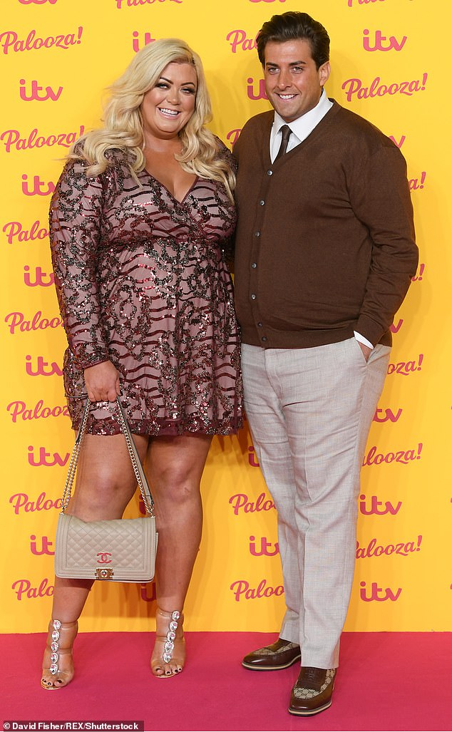 For good this time?: A source said Gemma had got back with James sooner than she planned but it's difficult for her to stay away when she loves him (pictured in October 2018)