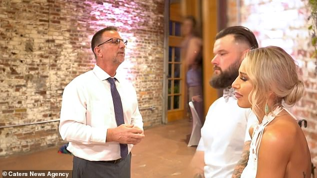 During the reception of bride Ali Kiman and groom, Mitch Kiman (right) her father Al Jones (left) signed an intimate and meaningful rendition of 'I Loved Her First' by Heartland