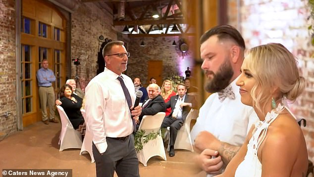 During his father of the bridge speech Al (left) told how he had learnt sign language for his daughter