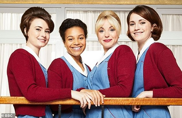 Renewed: It was revealed earlier this year that Call The Midwife has been renewed for at least three more seasons, taking it to 2022