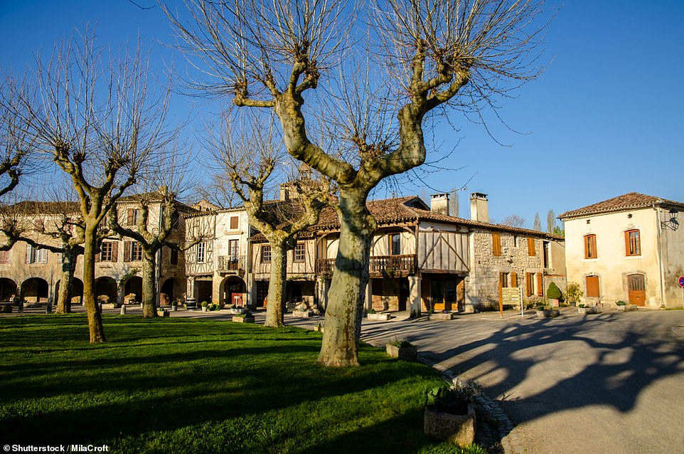 If you visit Fources in Gascony, you'll end up going round in circles - because this 11th-century village is built in a circle. You'll probably want to do a few loops as the half-timbered facades of the buildings are well worth a repeat visit